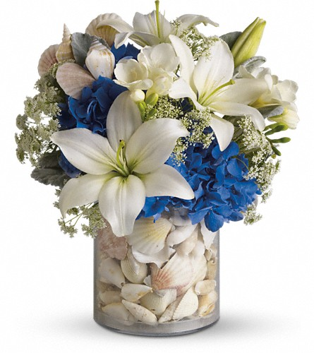 Everything's Beachy by Teleflora in Kirkland WA, Fena Flowers, Inc.