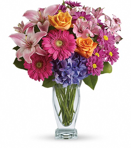 Wondrous Wishes by Teleflora in Salt Lake City UT, Brown Floral / Mildred's Flowers