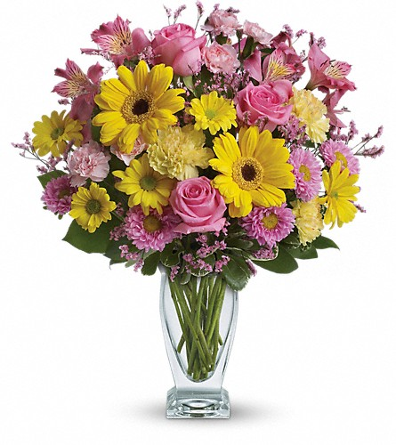 Teleflora's Dazzling Day Bouquet in DeKalb IL, Glidden Campus Florist & Greenhouse