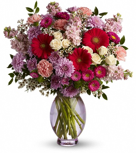 Teleflora's Perfectly Pleasing Pinks in Kirkland WA, Fena Flowers, Inc.