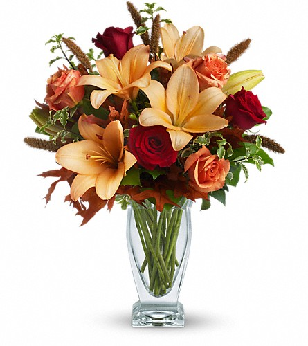 Teleflora's Fall Fantasia in usa-send-flowers NJ, Stanley's America's Florist & Gifts