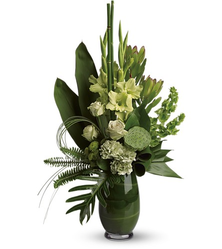 Limelight Bouquet in Bakersfield CA, White Oaks Florist
