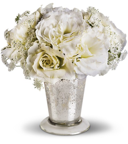Teleflora's Angel Centerpiece in Canton NC, Polly's Florist & Gifts