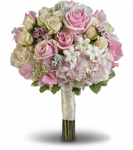 Pink Rose Splendor Bouquet in Jacksonville FL, Deerwood Florist
