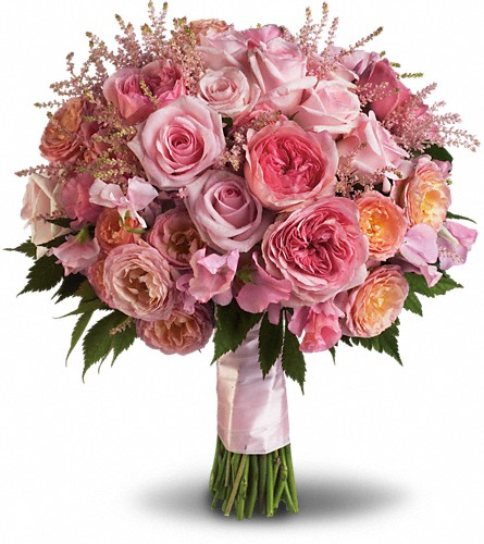 Pink Rose Garden Bouquet in Terrace BC, Bea's Flowerland