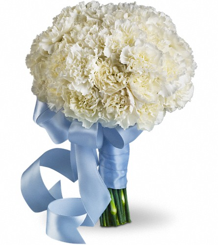 Sweet White Bouquet in Oklahoma City OK, Capitol Hill Florist & Gifts