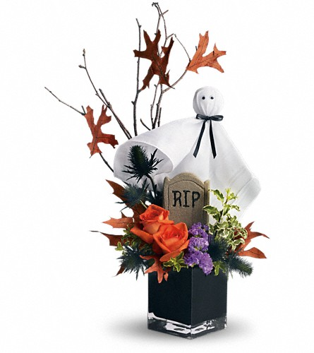Teleflora's Ghostly Gardens in Erie PA, Allburn Florist