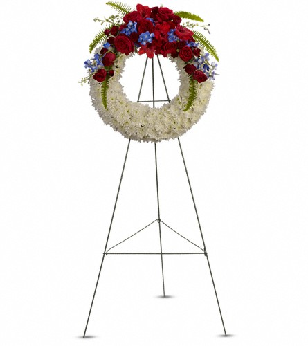 Reflections of Glory Wreath in Southampton PA, Domenic Graziano Flowers