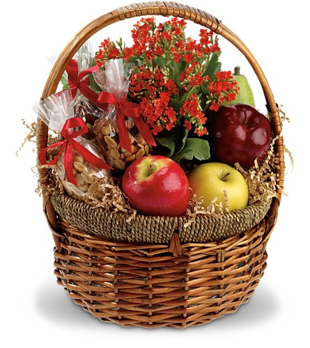 Health Nut Basket in Parsippany NJ, Cottage Flowers