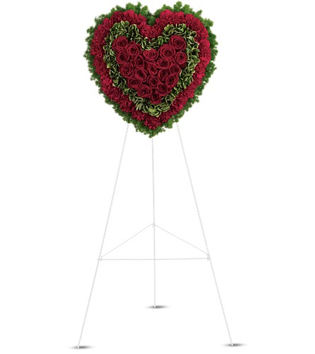 Majestic Heart in Jersey City NJ, Entenmann's Florist