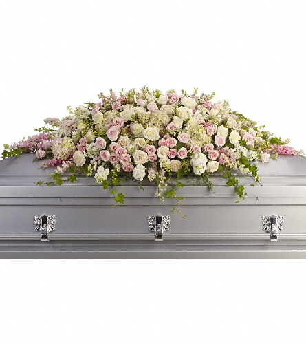 Always Adored Casket Spray Local and Nationwide Guaranteed Delivery - GoFlorist.com