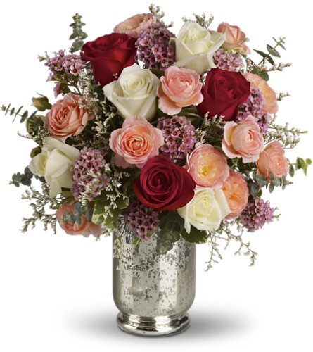 Teleflora's Always Yours Bouquet in Battle Creek MI, Swonk's Flower Shop