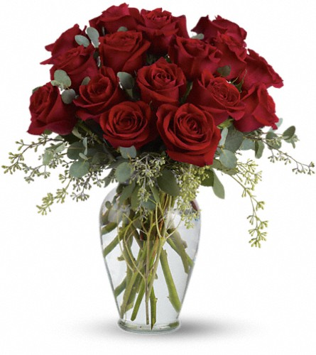 Full Heart - 16 Premium Red Roses in New York NY, New York Best Florist