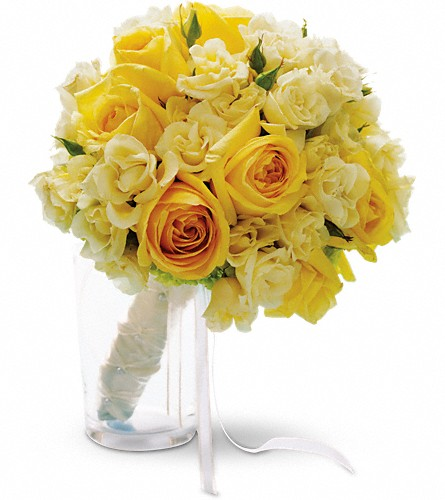 Sweet Sunbeams Bouquet in San Francisco CA, Fillmore Florist