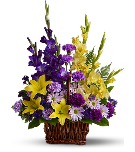 Basket of Memories in Benton Harbor MI, Crystal Springs Florist
