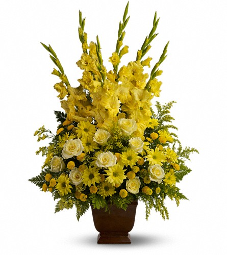 Teleflora's Sunny Memories Local and Nationwide Guaranteed Delivery - GoFlorist.com