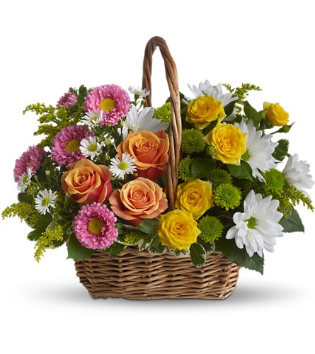 Sweet Tranquility Basket in Wolfeboro Falls NH, Linda's Flowers & Plants