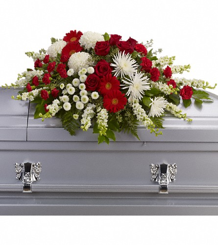 Strength and Wisdom Casket Spray Local and Nationwide Guaranteed Delivery - GoFlorist.com