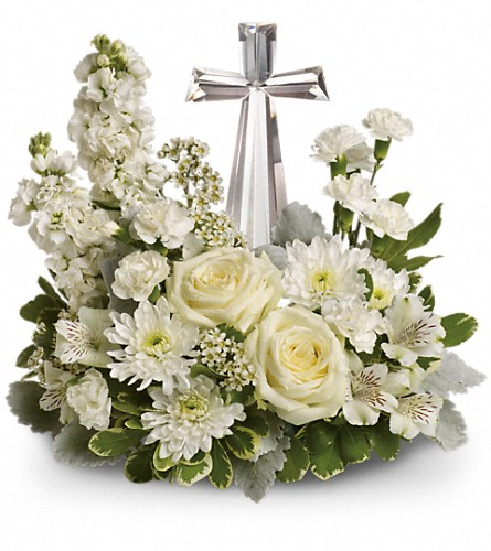 Teleflora's Divine Peace Bouquet in Fort Worth TX, TCU Florist