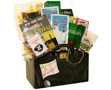 Get Well Gourmet Basket in Birmingham AL, Norton's Florist