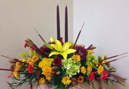 Thanksgiving Duet in Naples FL, Gene's 5th Ave Florist