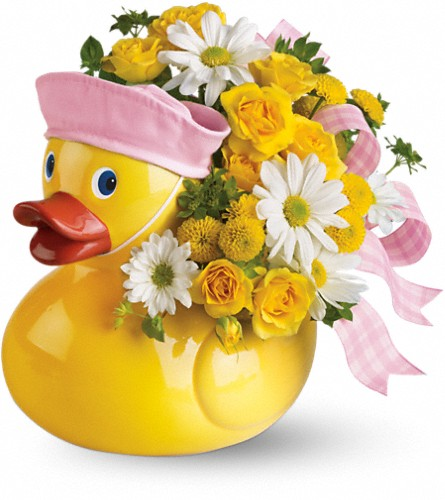 Teleflora's Ducky Delight - Girl in Oklahoma City OK, Capitol Hill Florist and Gifts