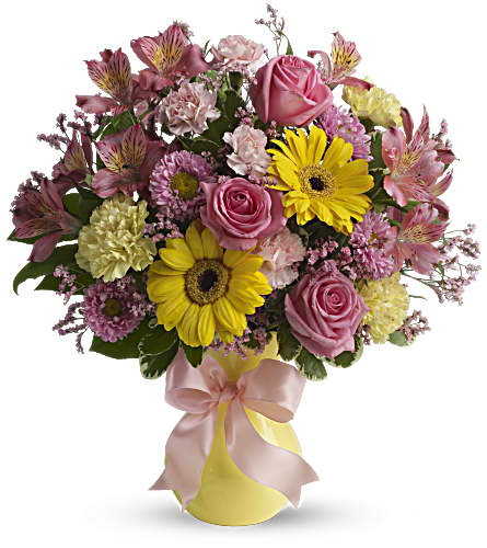 Darling Dreams Bouquet by Teleflora in Marco Island FL, China Rose Florist