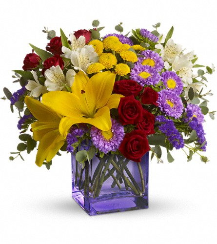Stir Things Up Bouquet by Teleflora in Bakersfield CA, White Oaks Florist