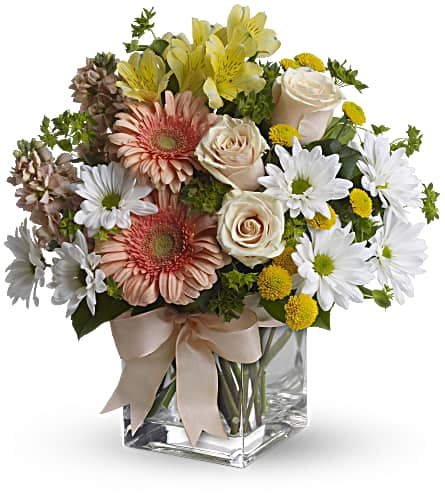 Teleflora's Walk in the Country Bouquet in DeKalb IL, Glidden Campus Florist & Greenhouse