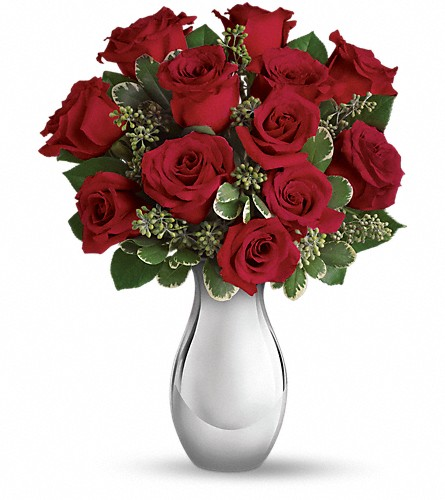 Teleflora's True Romance Bouquet with Red Roses in Salt Lake City UT, Especially For You
