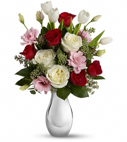 Teleflora's Love Forever Bouquet with Red Roses in Rock Hill SC, Plant Peddler Flowers