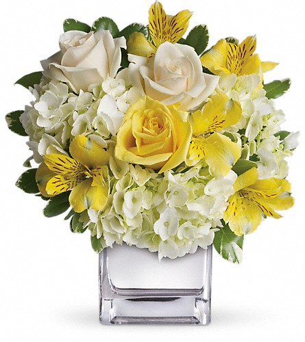 Teleflora's Sweetest Sunrise Bouquet in Battle Creek MI, Swonk's Flower Shop