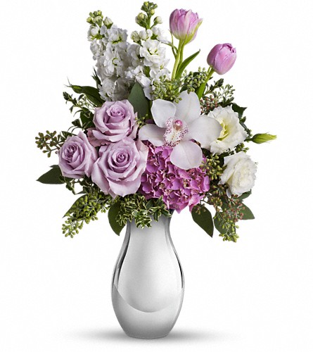 Teleflora's Breathless Bouquet in Canton NC, Polly's Florist & Gifts
