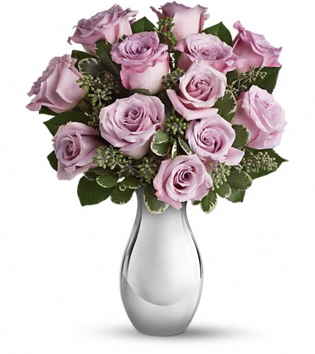 Teleflora's Roses and Moonlight Bouquet in Battle Creek MI, Swonk's Flower Shop