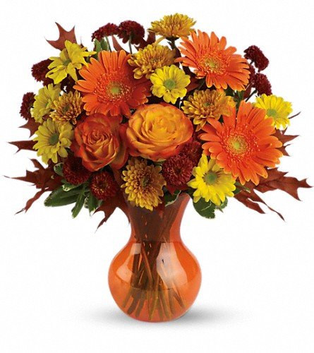 Teleflora's Forever Fall in Oak Forest IL, Vacha's Forest Flowers