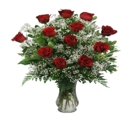 Classic Red Roses in El Paso TX, Kern Place Florist