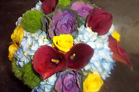 Cool Autumn in New York NY, Fellan Florists Floral Galleria