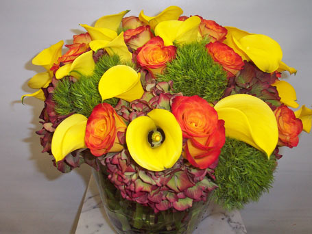 Global Warming in New York NY, Fellan Florists Floral Galleria