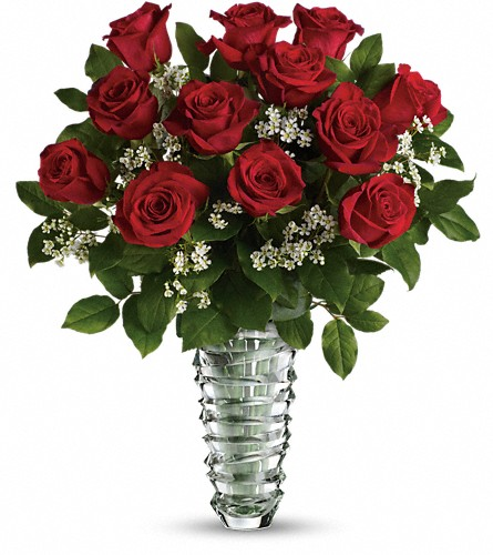 Teleflora's Beautiful Bouquet - Long Stemmed Roses in Kelowna BC, Bloomers Floral Designs & Gifts, Ltd.