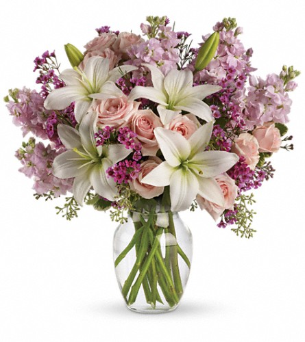 Teleflora's Blossoming Romance in San Francisco CA, Fillmore Florist