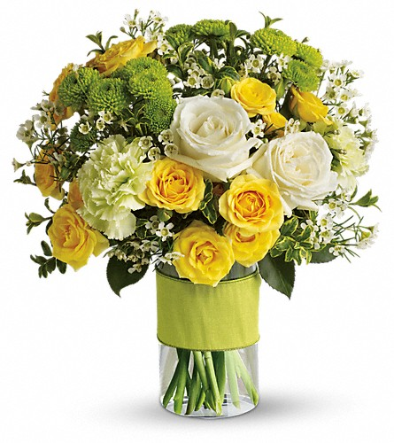 Your Sweet Smile by Teleflora in Laval QC, La Grace des Fleurs