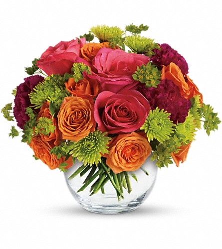 Teleflora's Smile for Me in Amherst & Buffalo NY, Plant Place & Flower Basket