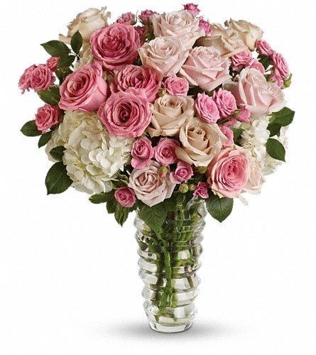 Luxe be a Lady by Teleflora in San Fernando CA, A Flower Anytime