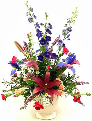 Berkshires English Garden Bouquet in Indianapolis IN Steves