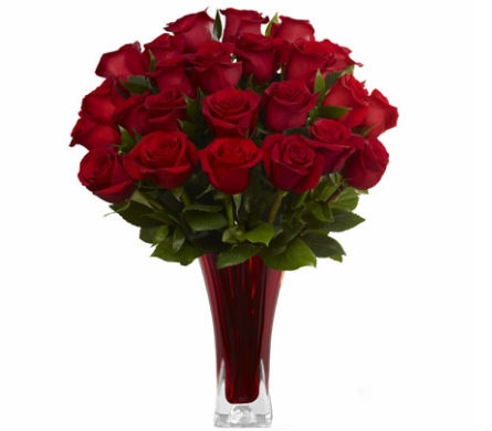 Love In Bloom Red Roses in Santa Monica CA, Edelweiss Flower Boutique