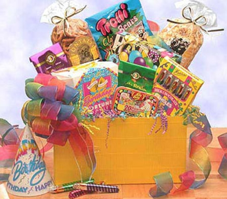 USA - Happy Birthday Gift Box in usa-send-flowers NJ, Stanley's America's Florist & Gifts