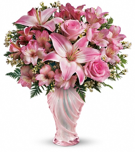 Teleflora's Charm & Grace Bouquet in San Fernando CA, A Flower Anytime