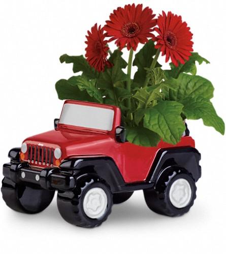 Teleflora 39 S Freewheelin 39 Jeep Wrangler Teleflora 39 S