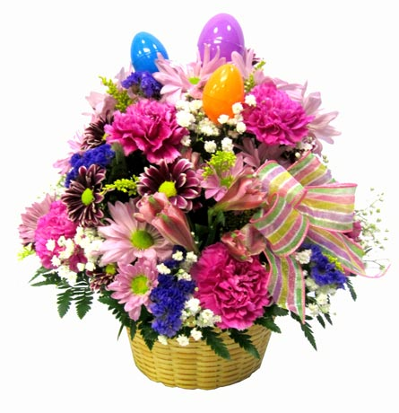 Classic Easter Basket  in Manchester NH, Chalifour's Flowers