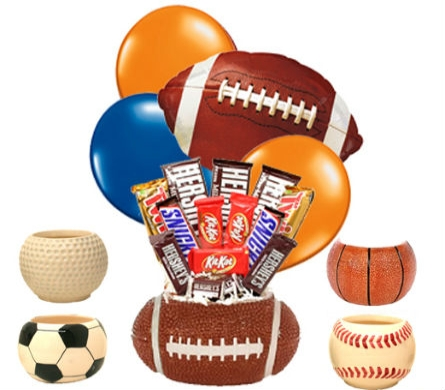 Sports Candy Bouquet in Birmingham AL, Norton's Florist